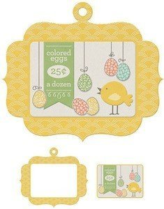 Frames - Colored Eggs