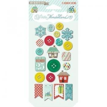 Winter Wonderland: Decorative Buttons