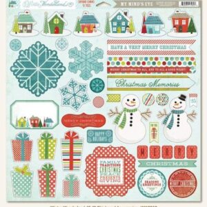 Winter Wonderland: 12x12 Chipboard Accessories