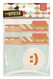 Mini File Folders - Hipster