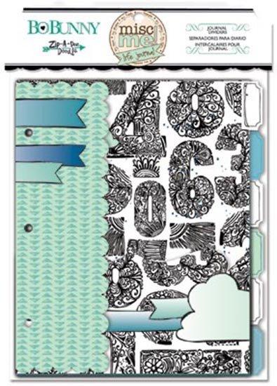Misc Me Zip-a-dee-doodle Journal Dividers