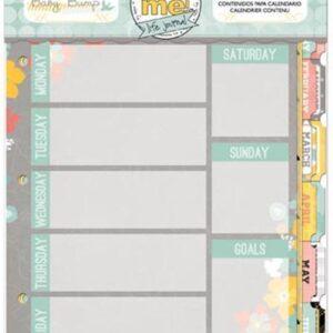 Misc Me Baby Bump Calendar Contents