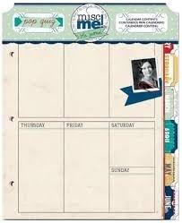 Misc Me Pop Quiz Calendar Contents