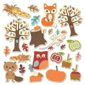 Icon Die Cuts - Fall Friends