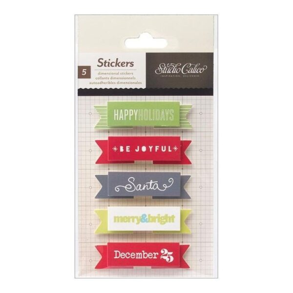 Embellishments - Magical - Adhesive Banners
