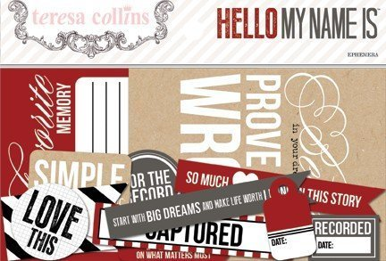 Hello My Name Is Ephemera Pack