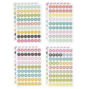 Carpe Diem Calendar Stickers