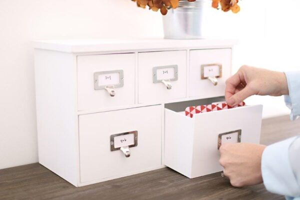 Project Life - Organizer - Card Cabinet