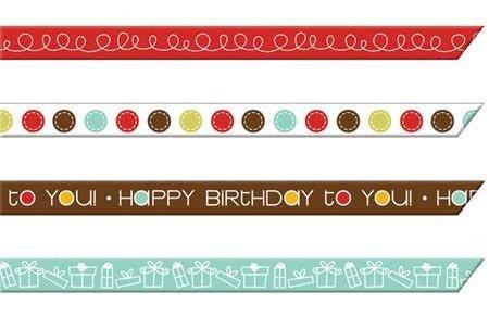 Birthday Streamers Ribbon