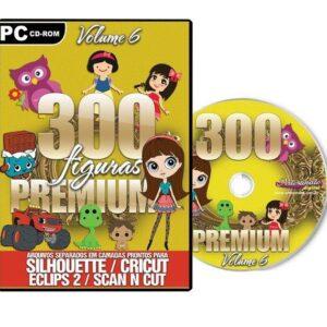 300 Figuras Premium para Silhouette /SCAN N CUT/ CRICUT- V. 6