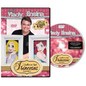Vlady Ensina - Princesas - Escultura em Papel Volume 5
