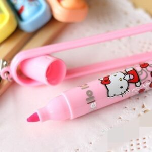 Marca texto Hello Kitty Kawaii Pink