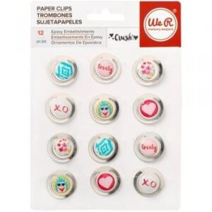 Embellishments - We R - Crush - Metal Clips