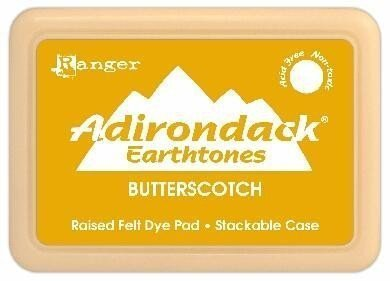 Adirondack Dye Ink Pads Earthtones - Butterscotch