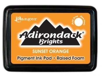 Adirondack Pigment Ink Pads Brights - Sunset Orange