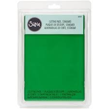 Sizzix Accessory - Cutting Pads, Standard, 1 Pair (Apple Green)
