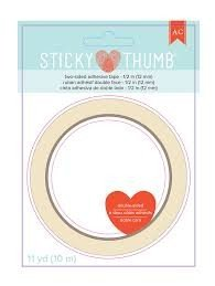 Double-Sided Tape - AC - Sticky Thumb - 0.50 - 11 Yards