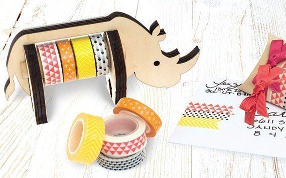 Washi Tape Dispenser Rhino