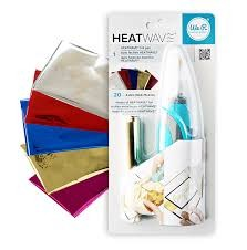 Heatwave Pen - We R - Starter Kit - Includes Heatwave Pen & 20 Sheets Of 4 x 6 Foil