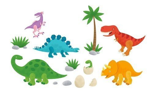 Wall Decals - AC - Wall Art - Dinosaurs