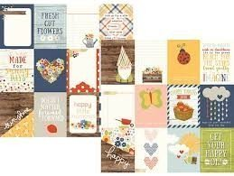 Papel para scrapbooking Simple Stories 3x4 Journaling Card Elements