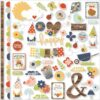 Papel para scrapbooking Simple Stories Fundamentals Cardstock Stickers - Bloom & Grow