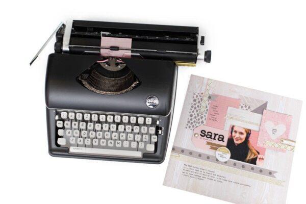 Typewriter - WR - Typecast - Black