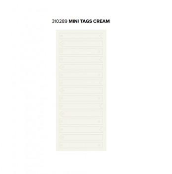 Tags - WR - Typecast - Mini - Cream (15 Piece)