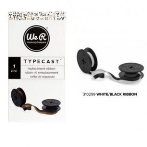 Ribbon - WR - Typecast - White/Black
