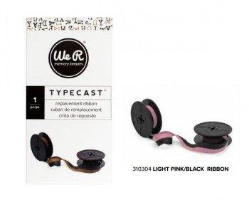 Ribbon - WR - Typecast - Light Pink/Black