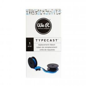 Ribbon - WR - Typecast - Light BlueBlack