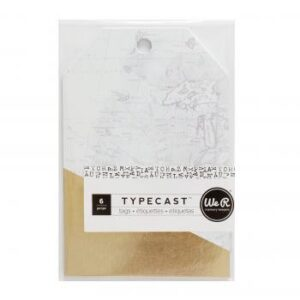 Tags - WR - Typecast - Gold (6 Piece)