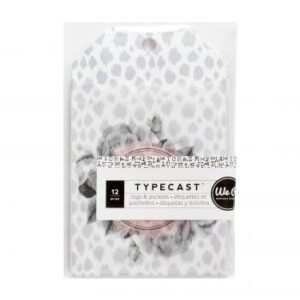 Tags & Pocket - WR - Typecast - Vellum (12 Piece)