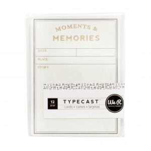 Card Set - WR - Typecast - Grid (12 Piece)
