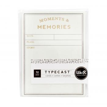 Card Set - WR - Typecast - Grid (12 Piece)