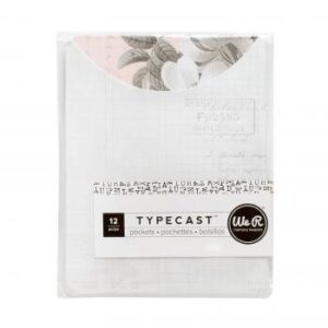 Pocket Notes - WR - Typecast - Floral (12 Piece)