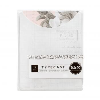 Pocket Notes - WR - Typecast - Floral (12 Piece)