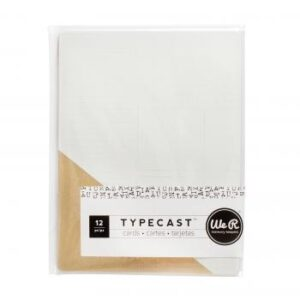 Card Set - WR - Typecast - Gold Foil (12 Piece)