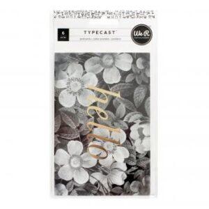 Postcards - WR - Typecast - Gold Foil - Hello (6 Piece)
