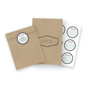 Treat Bags - WR - Typecast - Kraft (6 Piece)