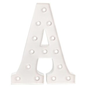 Marquee Letters - HS - Size 10 Inch - A
