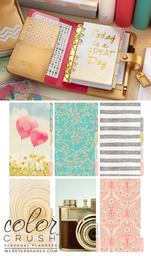 Color Crush Planner Kit - Gold