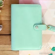 Personal Planner Binder - Mint