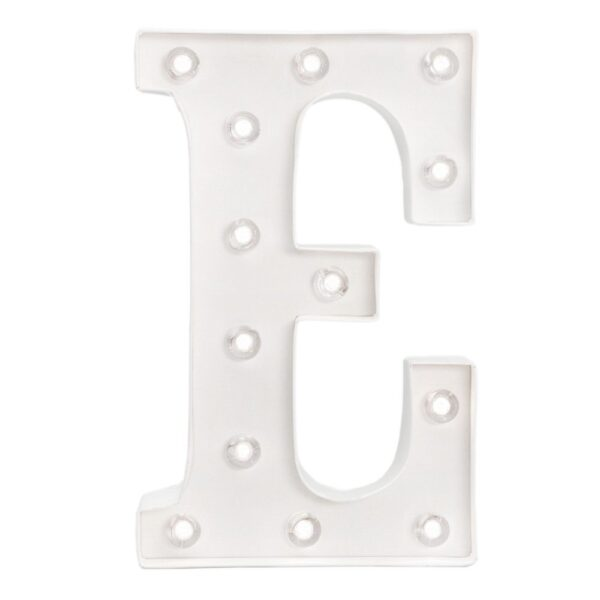 Marquee Letters - HS - Size 10 Inch - E
