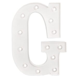 Marquee Letters - HS - Size 10 Inch - G