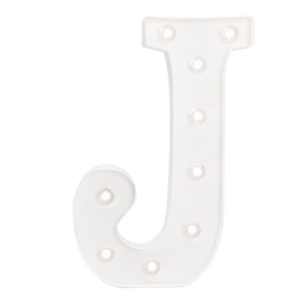 Marquee Letters - HS - Size 10 Inch - J