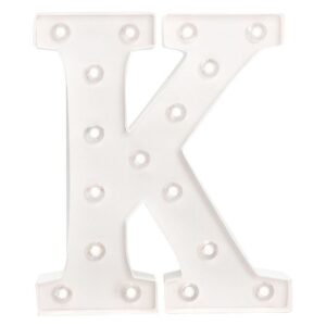 Marquee Letters - HS - Size 10 Inch - K