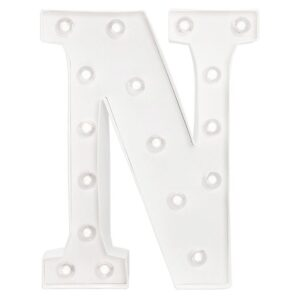 Marquee Letters - HS - Size 10 Inch - N