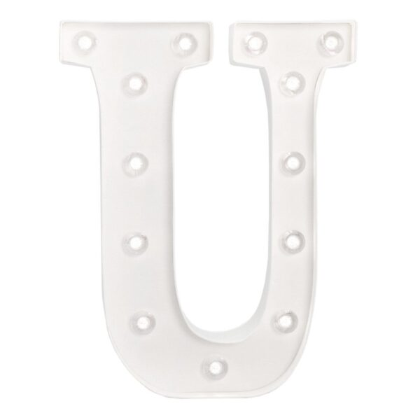 Marquee Letters - HS - Size 10 Inch - U