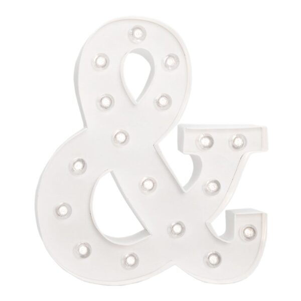 Marquee Symbols - HS - Size 10 Inch - &